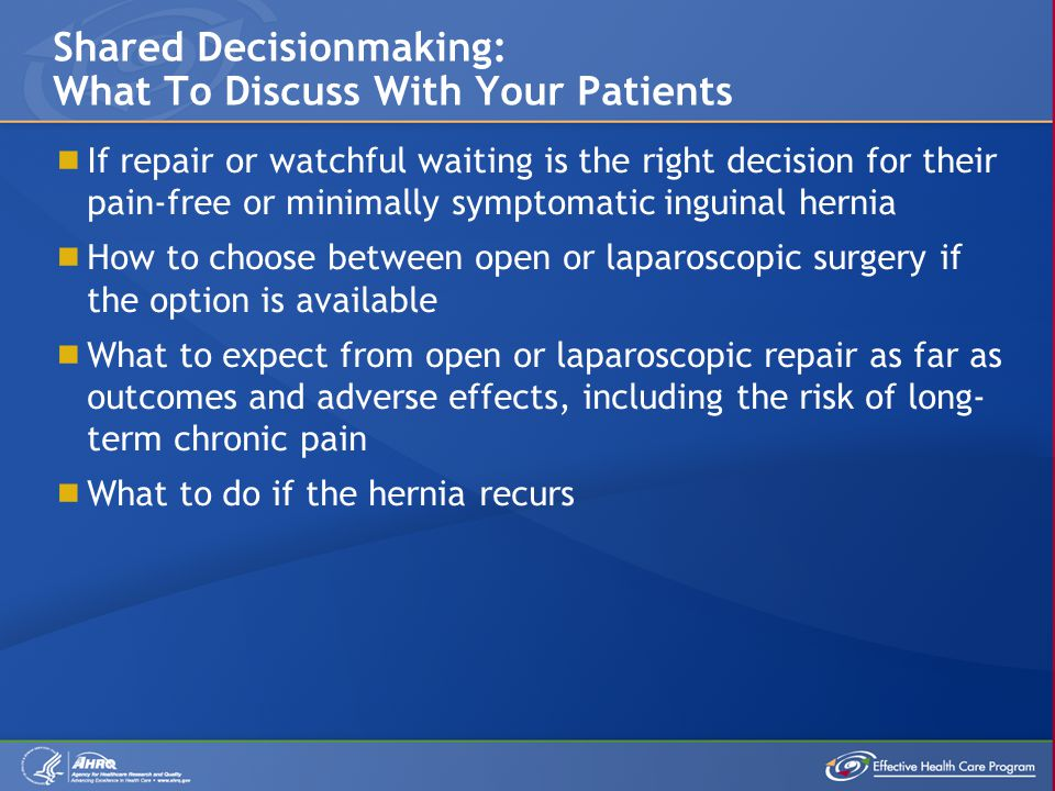 Shared Decisionmaking: What To Discuss With Your Patients