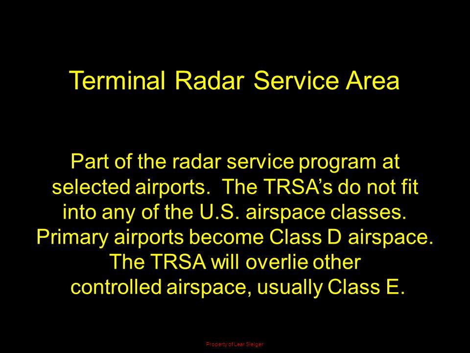 Terminal Radar Service Area