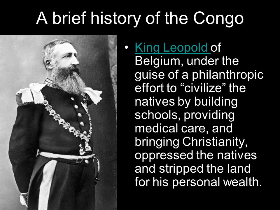 A brief history of the Congo