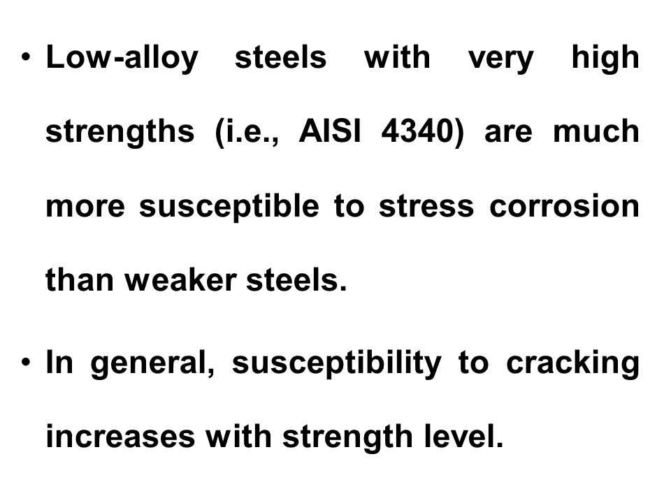Low-alloy steels with very high strengths (i. e