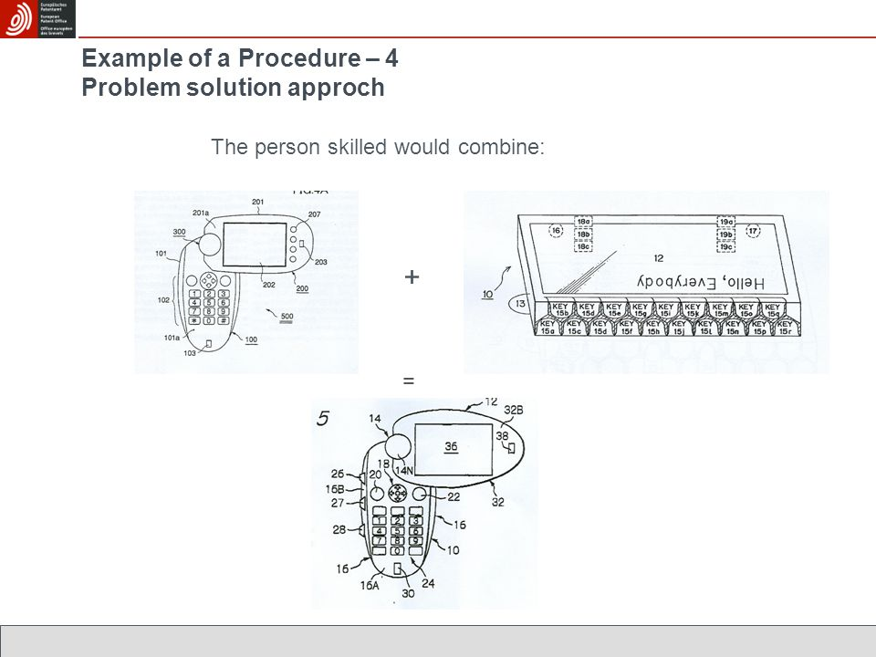 Example of a Procedure – 4 Problem solution approch