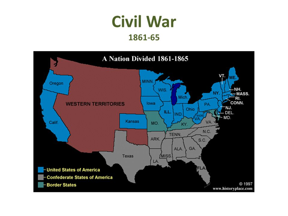 Civil War 1861-65