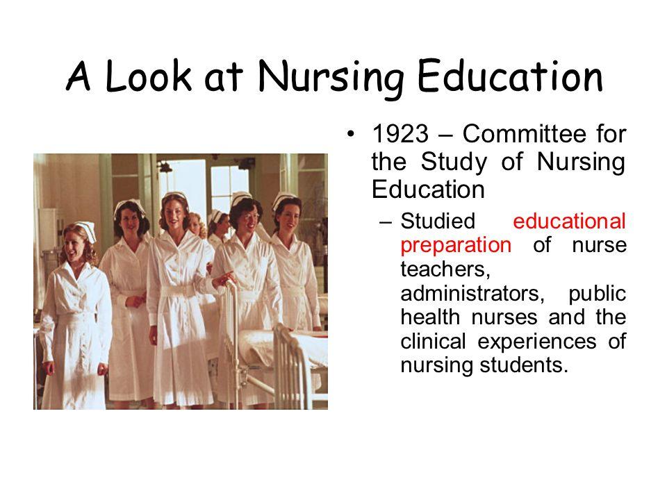 A Look at Nursing Education