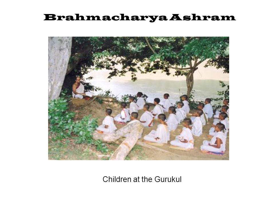Children at the Gurukul