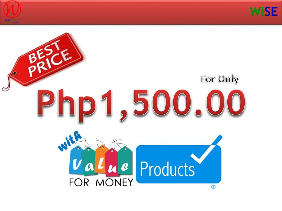 For Only Php1,500.00 with