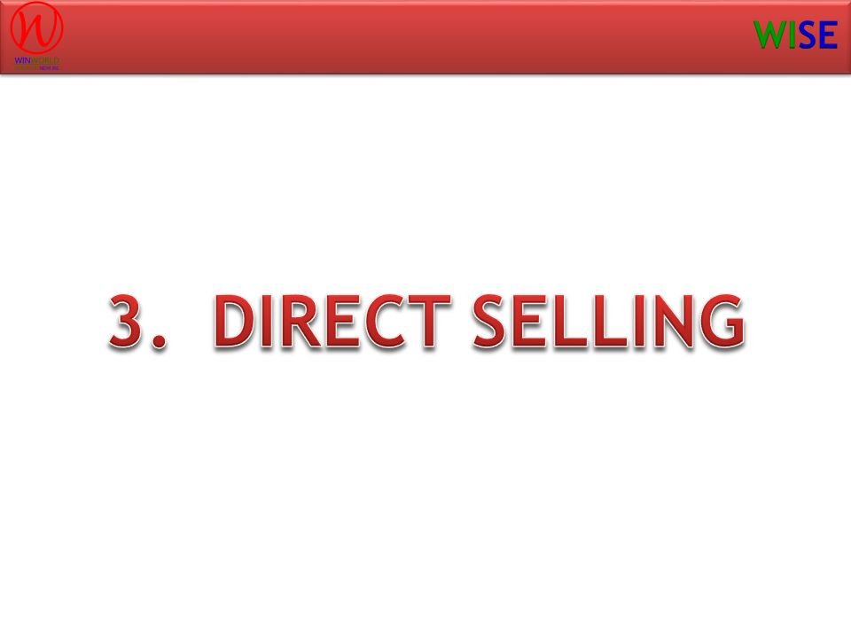DIRECT SELLING