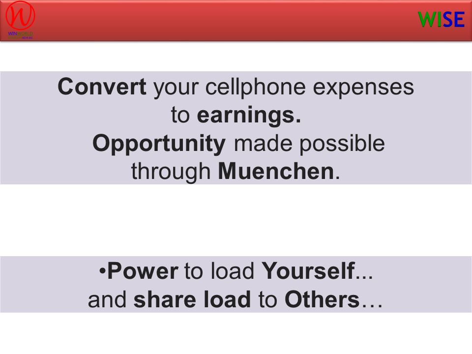 Convert your cellphone expenses to earnings.