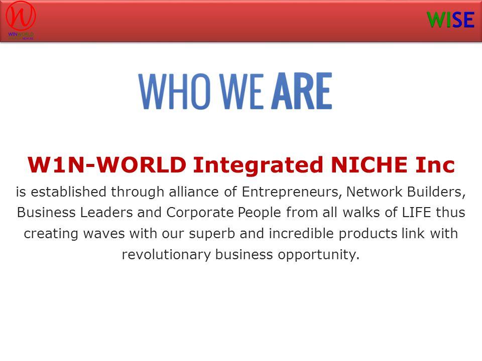 W1N-WORLD Integrated NICHE Inc