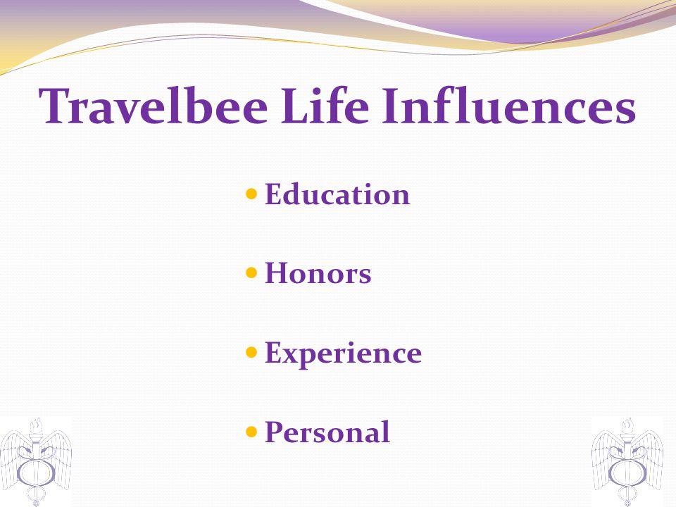 Travelbee Life Influences