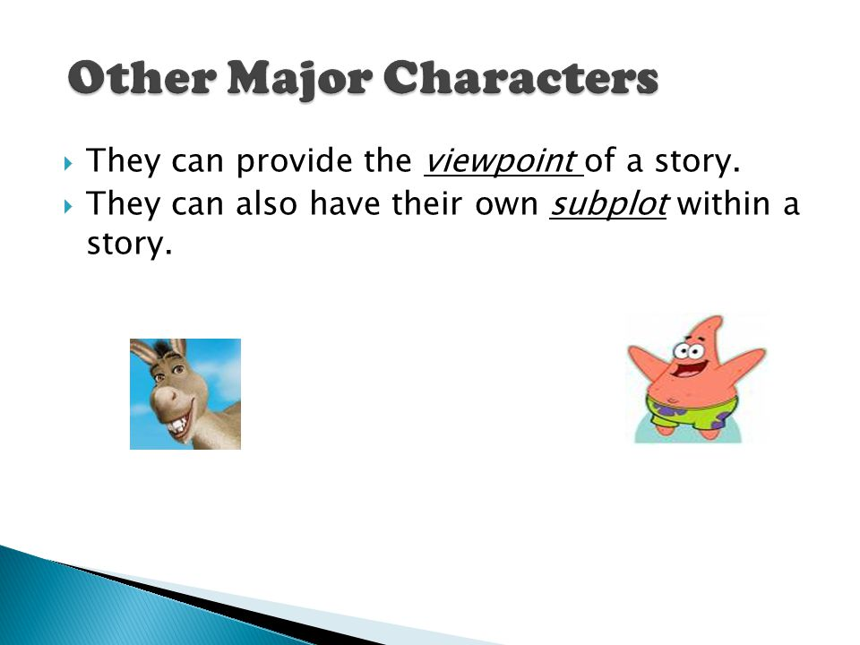 Other Major Characters