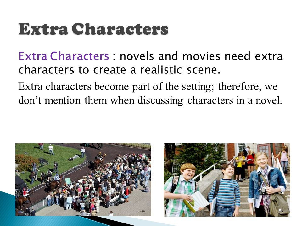 Extra Characters