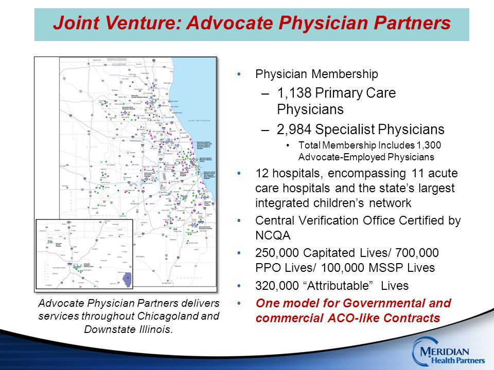 Joint Venture: Advocate Physician Partners
