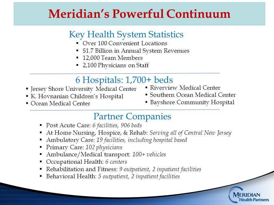 Meridian's Powerful Continuum