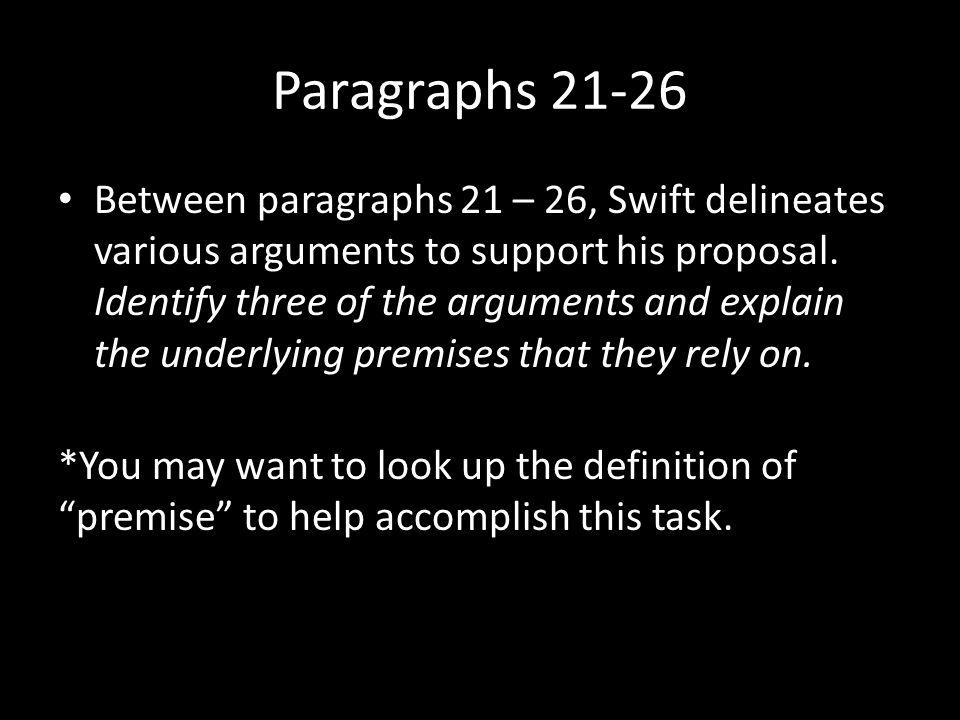 Paragraphs 21-26