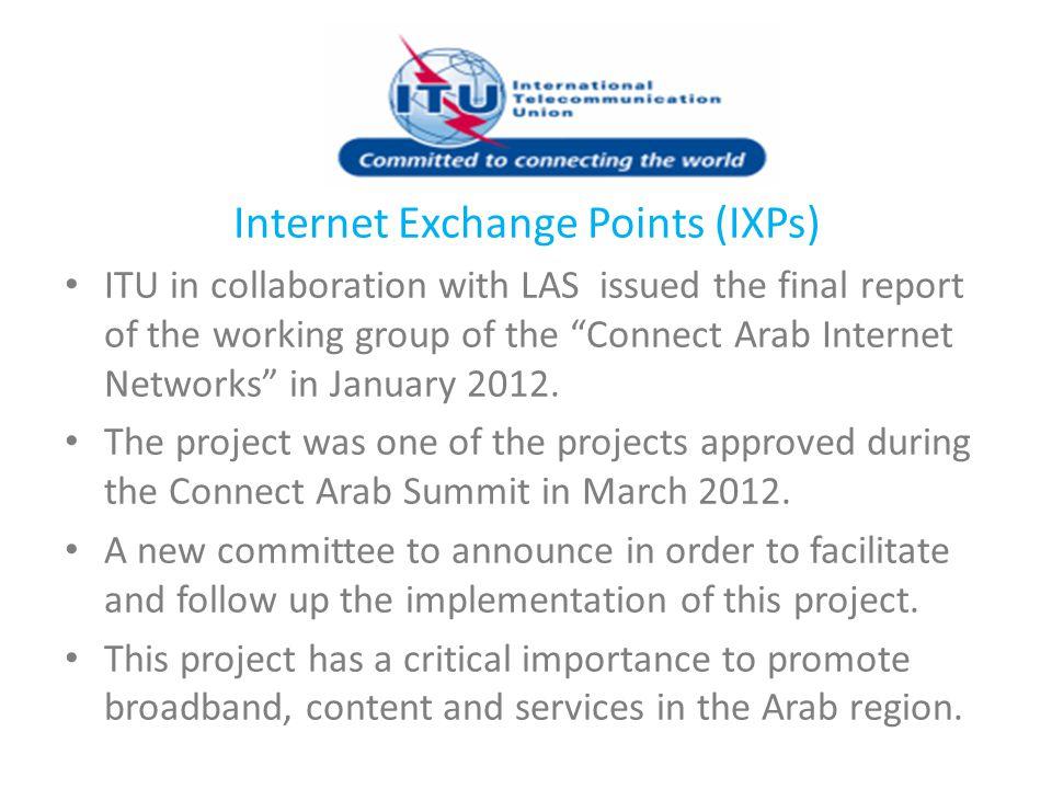 Internet Exchange Points (IXPs)