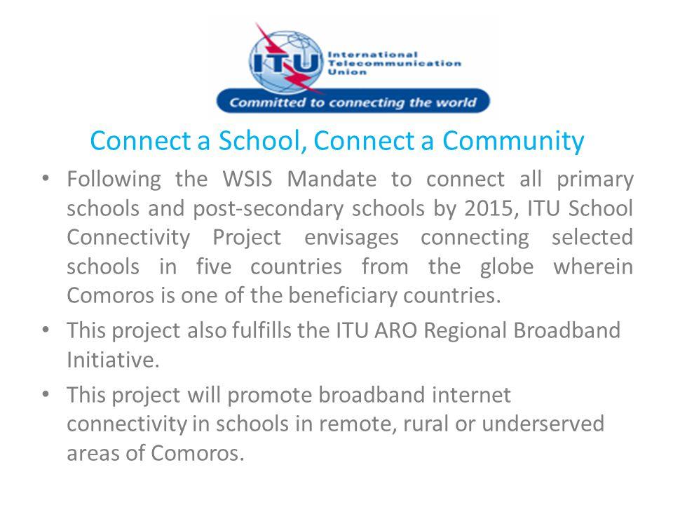 Connect a School, Connect a Community