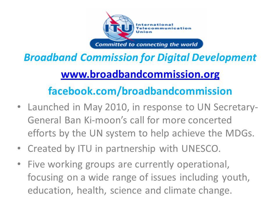 Broadband Commission for Digital Development