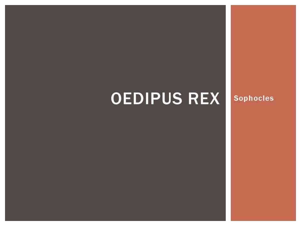 Oedipus Rex Sophocles