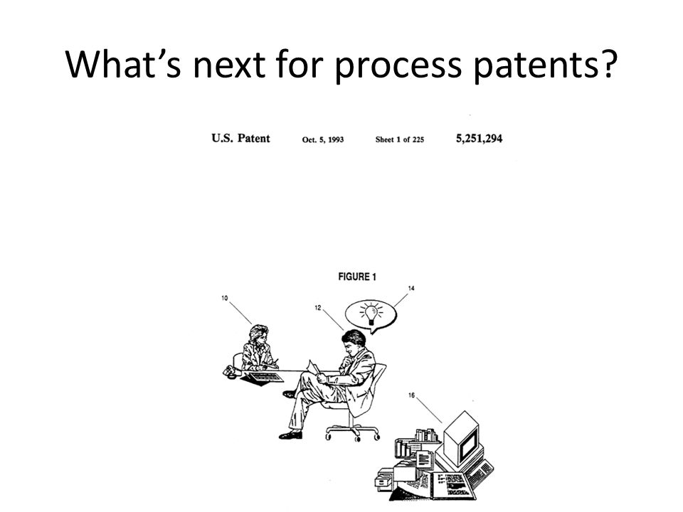 What's next for process patents