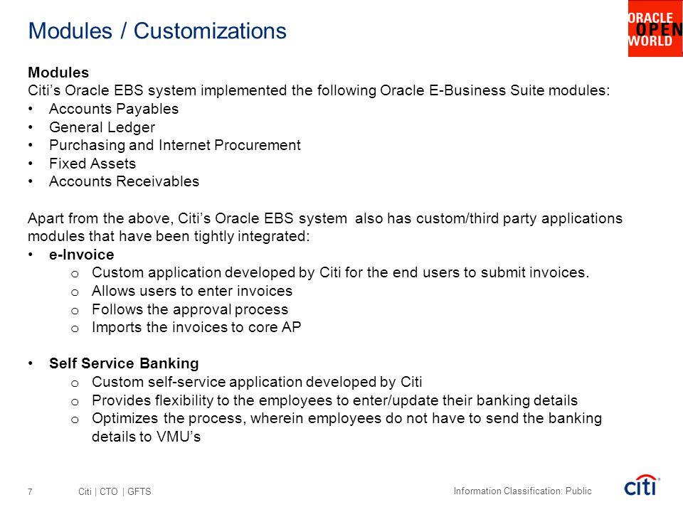 Modules / Customizations