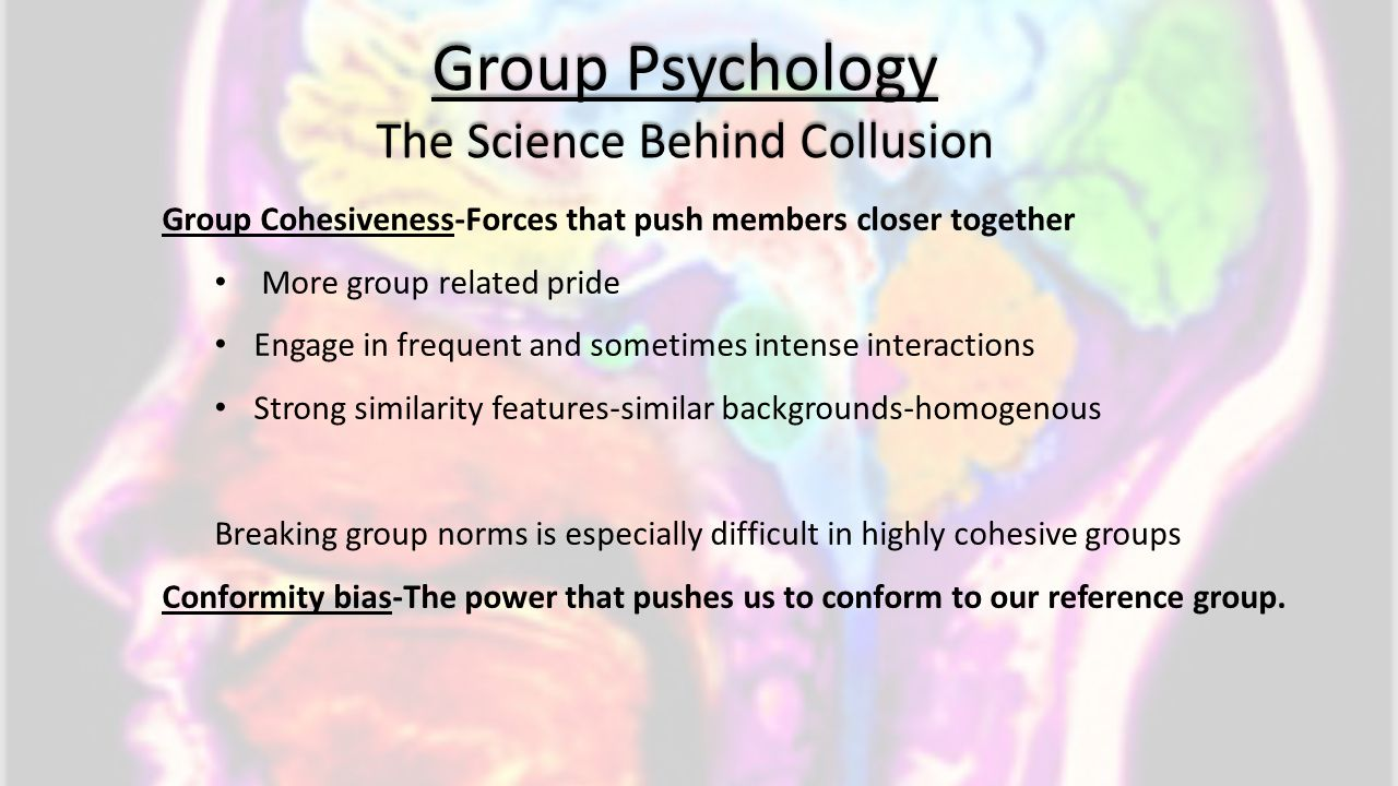 The Science Behind Collusion