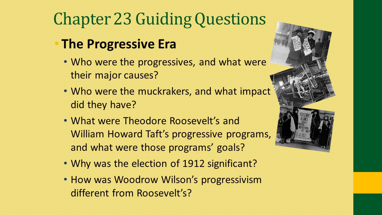 Chapter 23 Guiding Questions