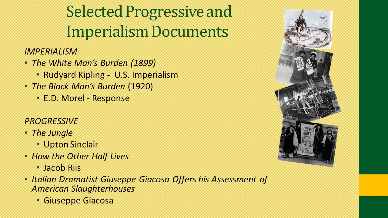 Selected Progressive and Imperialism Documents
