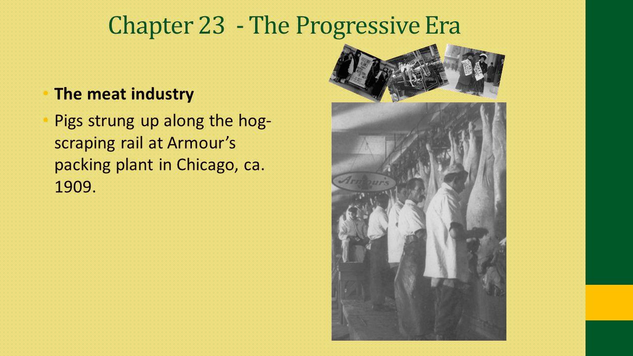 Chapter 23 - The Progressive Era
