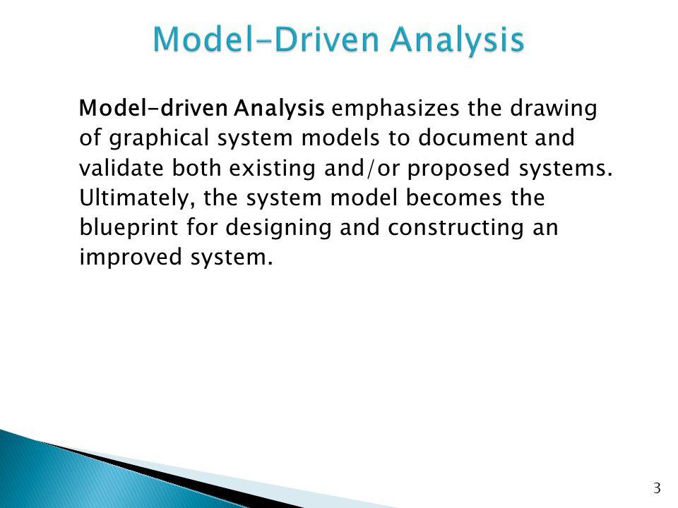 Model-Driven Analysis