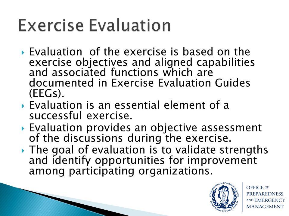 Exercise Evaluation