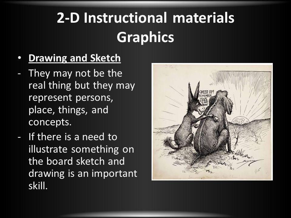 2-D Instructional materials Graphics