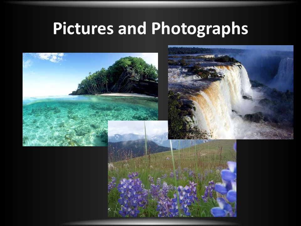 Pictures and Photographs