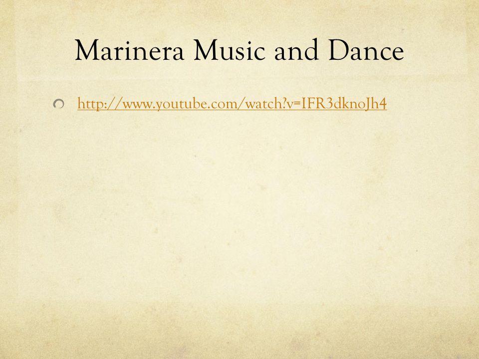 Marinera Music and Dance