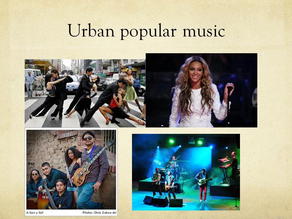 Urban popular music