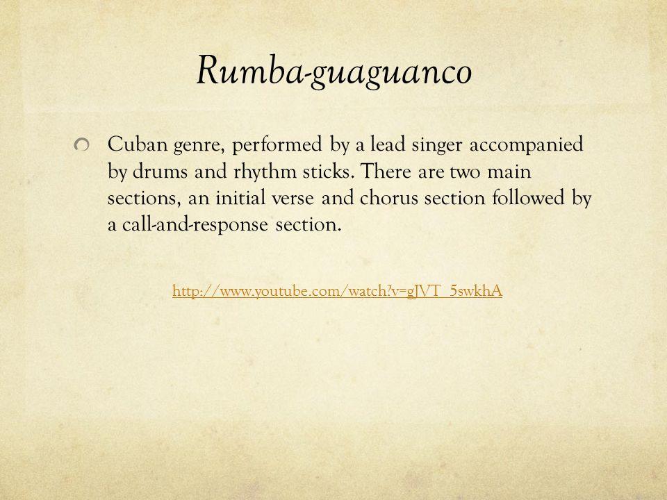 Rumba-guaguanco