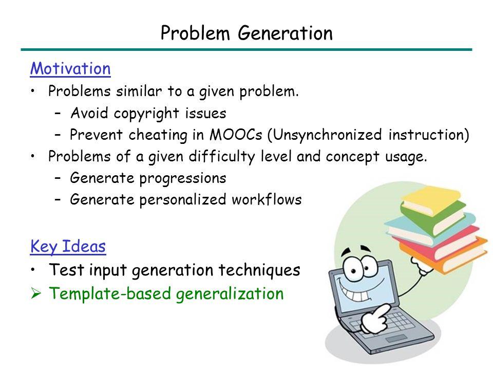 Problem Generation: Sentence Completion