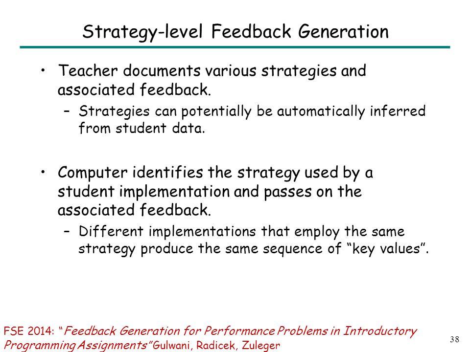 Some Results: Documentation of teacher effort