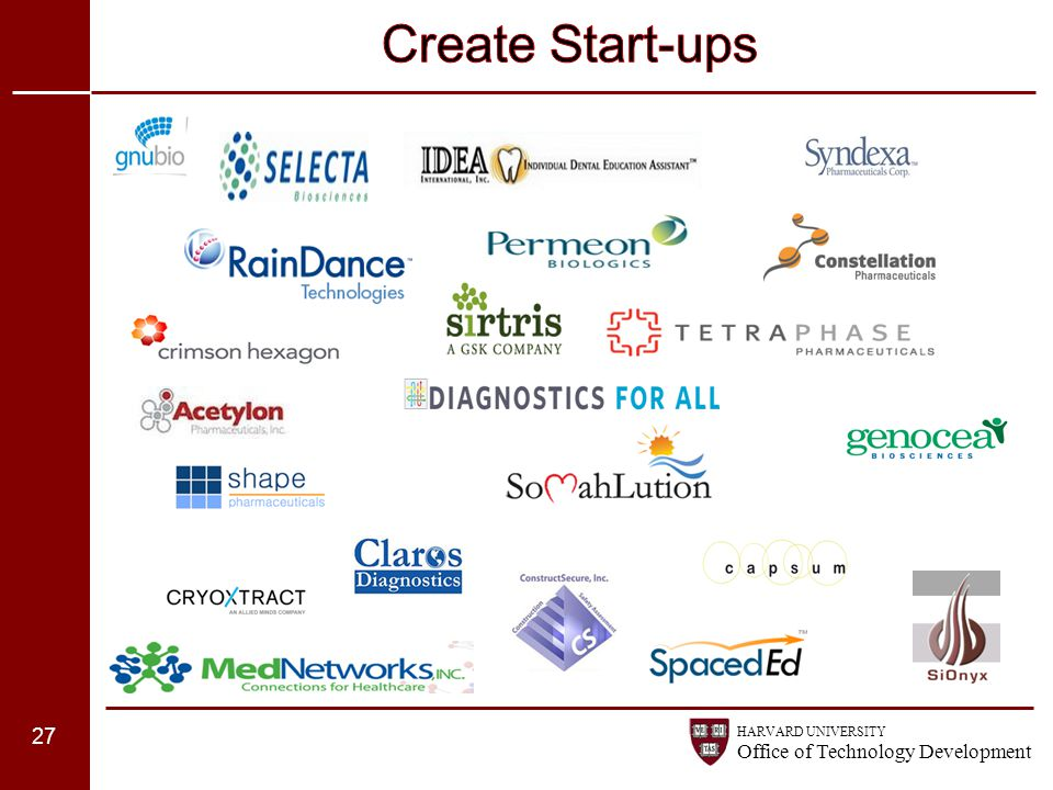 Create Start-ups