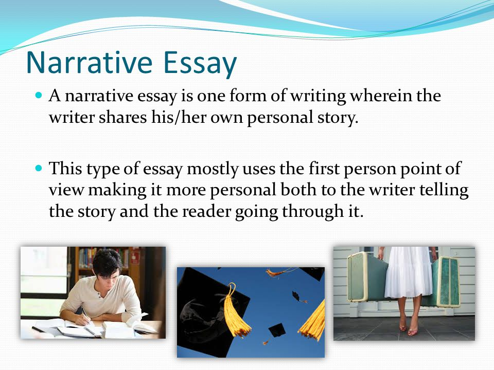 History of narrative essay