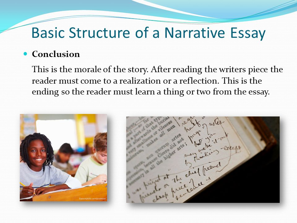 Basic Structure of a Narrative Essay