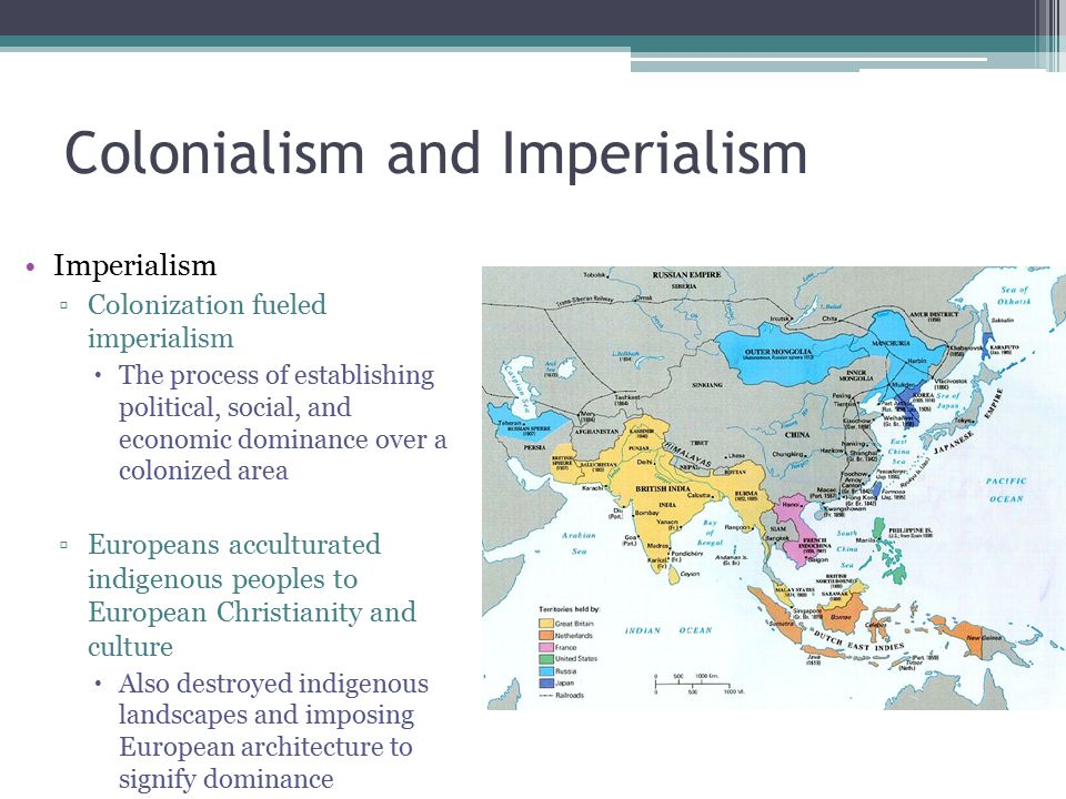 impericalism and colonialism