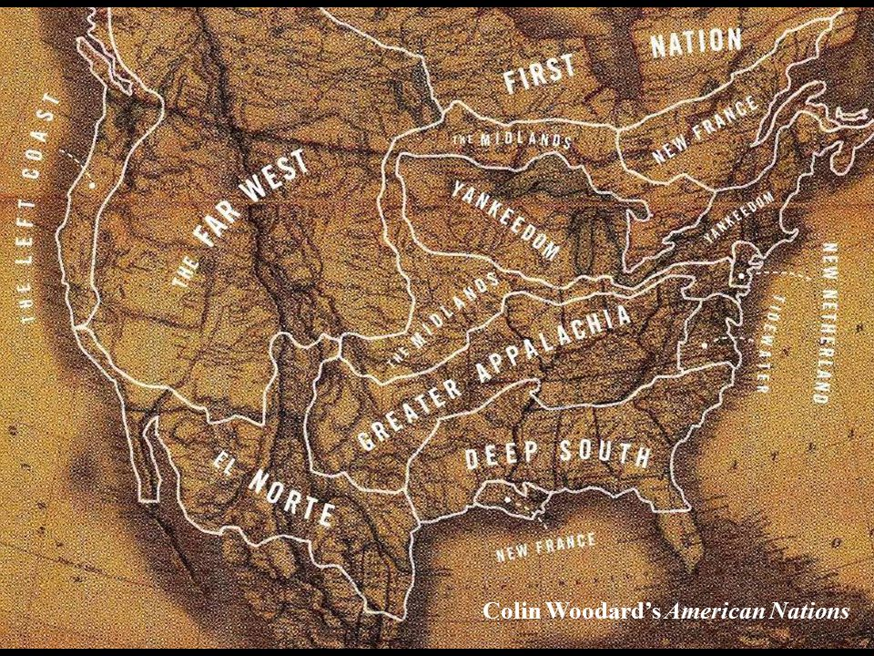 Colin Woodard's American Nations
