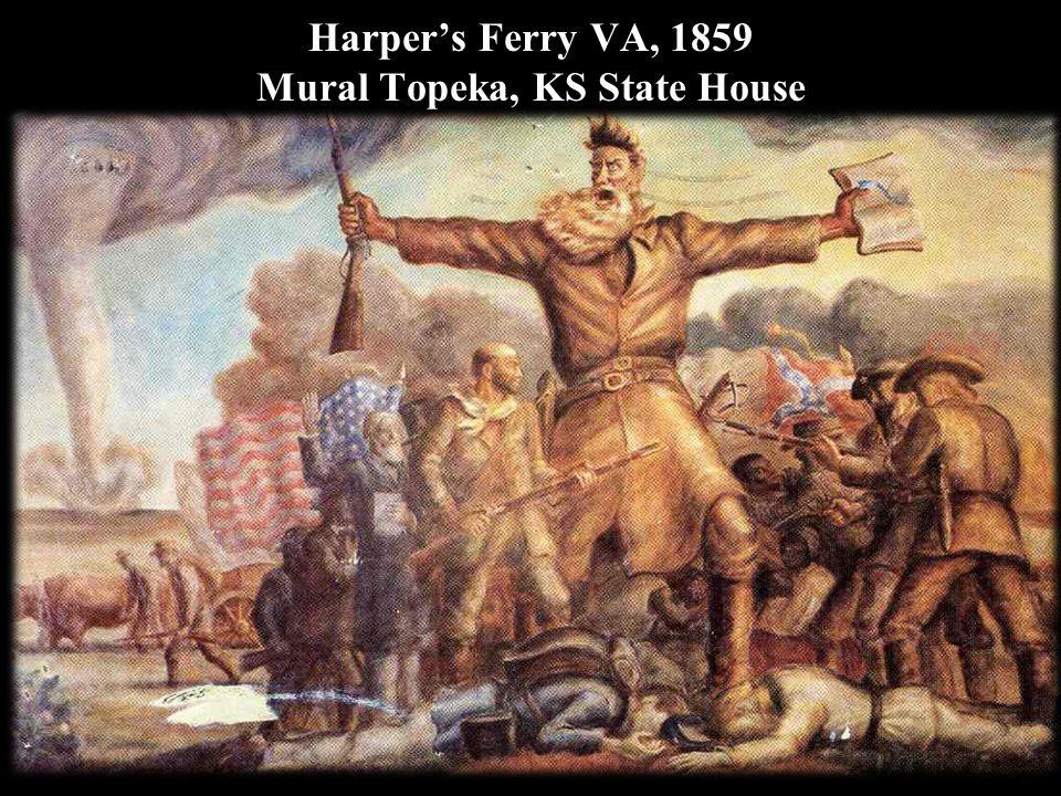 Harper's Ferry VA, 1859 Mural Topeka, KS State House