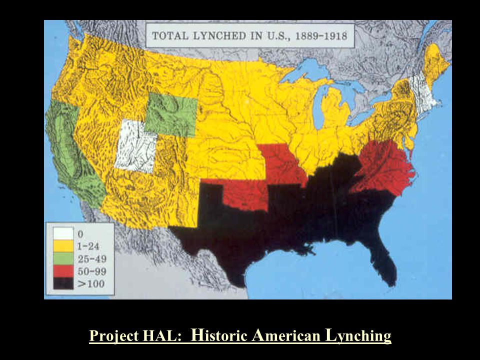 Project HAL: Historic American Lynching