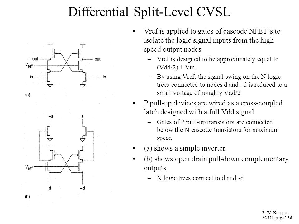 Differential Split-Level CVSL