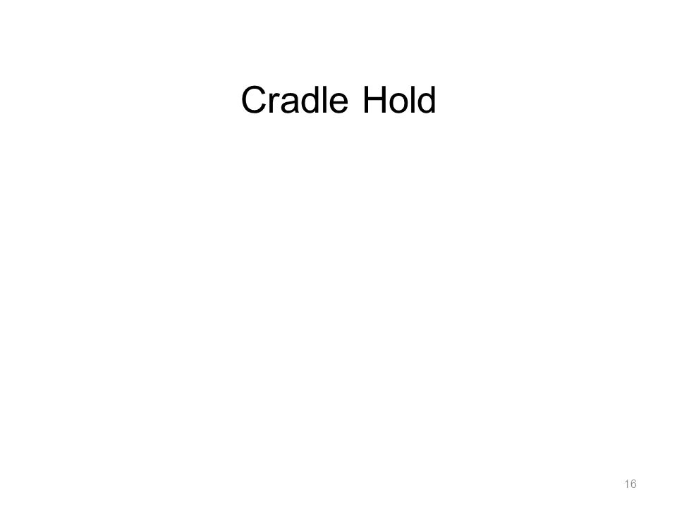 Cradle Hold 16 BBC 6: Putting Baby to Breast