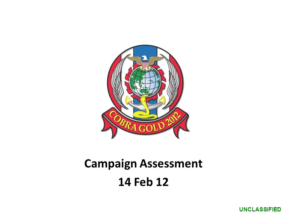 Campaign Assessment 14 Feb 12