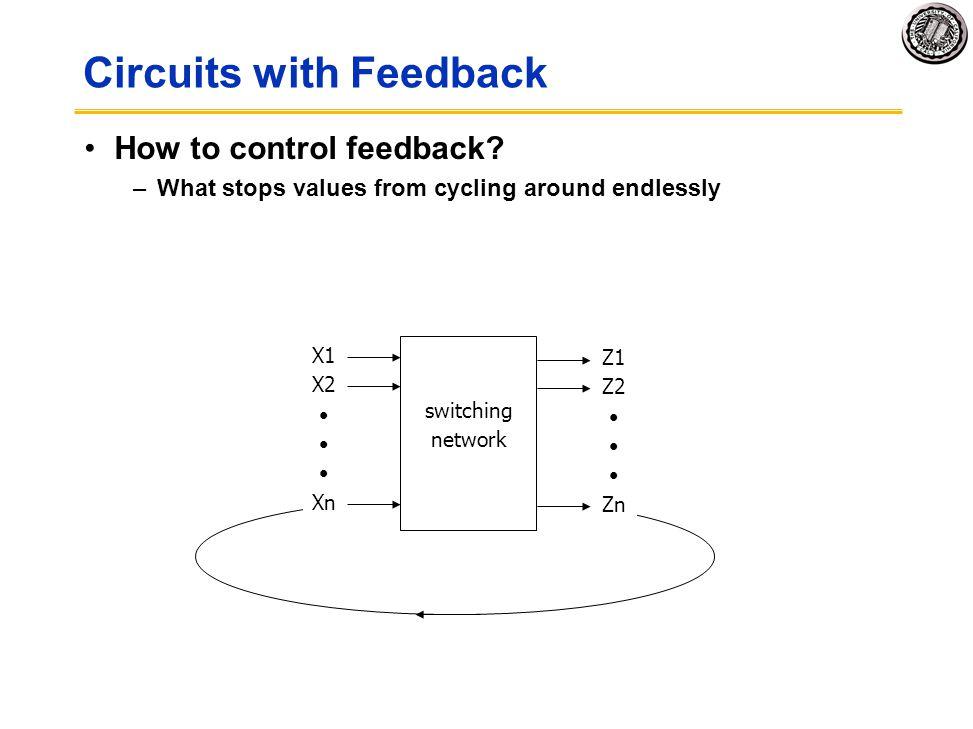 Circuits with Feedback
