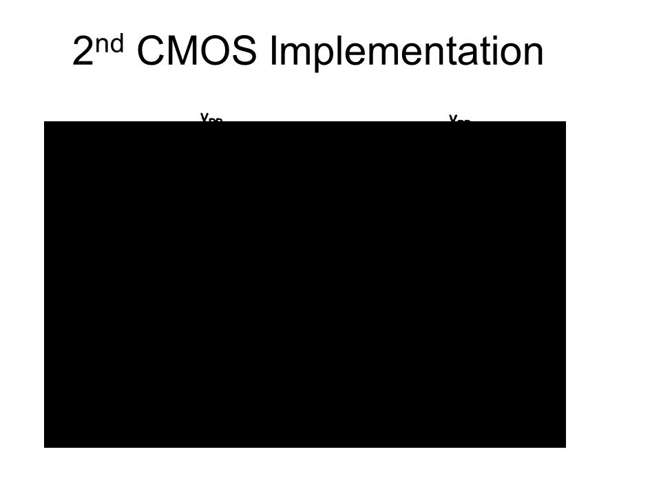 2nd CMOS Implementation