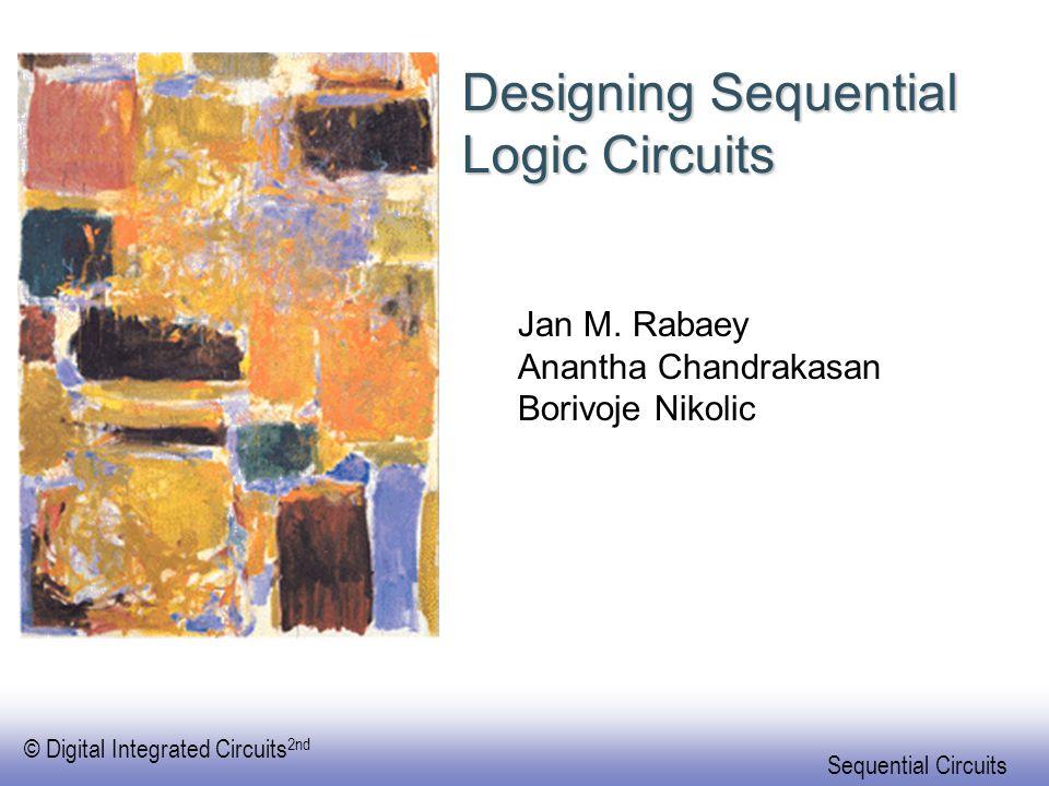 Designing Sequential Logic Circuits
